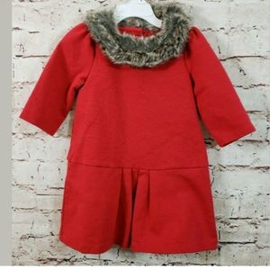 Janie and Jack Wonderland Wishes Holiday Dress 2T